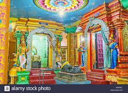 colorful interior matale sri lanka november 27 2016 the colorful interior of