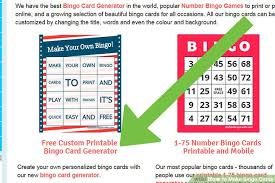 3 easy ways to make bingo cards with pictures wikihow