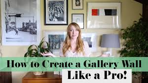 How To Design A Gallery Wall How To Create A Gallery Wall Like A Pro Sarah Neylan Youtube