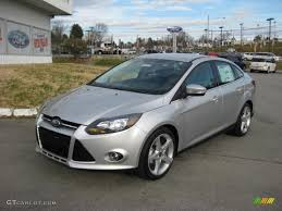 ford focus titanium silver ingot silver 2013 ford focus titanium sedan exterior photo