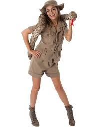 Halloween Costume Womens Amazon Safari Lady Halloween Costume Clothing