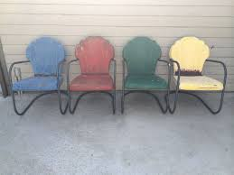 decorate vintage metal patio chairs all home decorations
