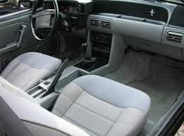1990 Mustang Interior 1992 Ford Mustang Notchback Car Autos Gallery