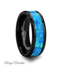 cheap wedding bands for men ceramic ring wedding bands green opal inlay ring men gift his