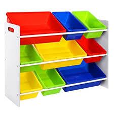 scaffali bambini songmics scaffale porta giocattoli per bambini organizzatore con 9
