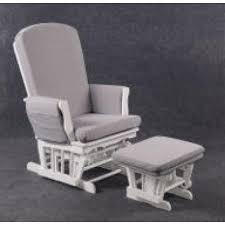 rocking chair chambre bébé fauteuil d allaitement quax rocking chair blanc et grise