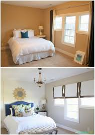 Before And After Bedroom Makeovers - guest bedroom refresh headboard styling life on virginia street