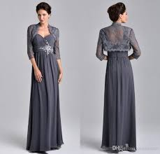 nina canacci 2015 elegant gray mother of the bride dresses with