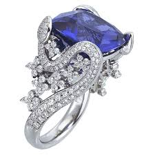 stone rings pictures images Colored engagement rings meaning brides jpg