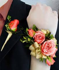 Gold Boutonniere Corsages U0026 Boutonnieres Wrist Corsages Broken Arrow Ok