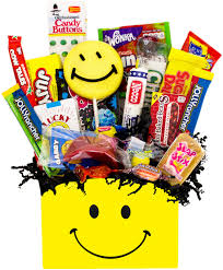 candy gift basket happy retro candy gift basket