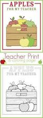 apples for my teacher print and coloring page capturing joy with