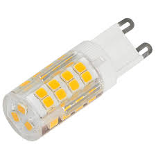 4pcs g9 5w led corn light 51x 2835 smd leds led bulb lamp in warm