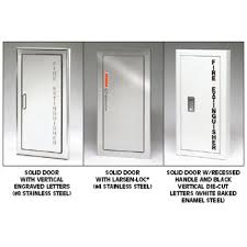 semi recessed fire extinguisher cabinet general description larsen s architectural series is a traditional
