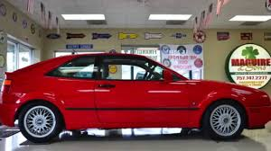 1995 volkswagen corrado for sale 1992 volkswagen corrado vr6 slc 52 000 miles youtube