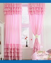 Urban Outfitters Waterfall Ruffle Curtain by Sweet Pink Ruffle Curtains For Young Girls U0027 Room Naindien