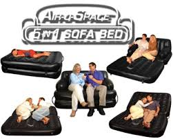 beds air o space 5 in 1 air sofa bed w electric pump the
