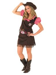 Womens Cowgirl Halloween Costumes Cowgirl Fancy Dress Costume Wild West Ladies Womens Female