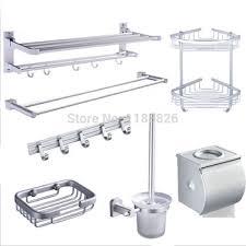 bathroom shoo holder buy bathroom suite double towel rack toilet paper holder soap dish