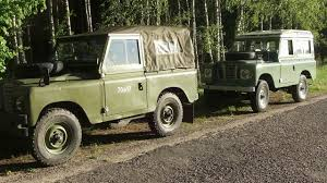 old land rover land rover series iii first off road after renovation old new