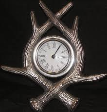Ebay Cuckoo Clock Pristine Vintage Art Deco Antler Metal Clock Ebay Good Stuff
