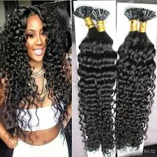 hairstyles for bonded extentions brazilian curly hair keratin stick tip hair extensions 200s 200g
