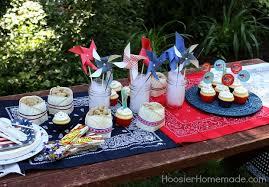 Easy Table Decorations Summer Entertaining HoosierHomemade