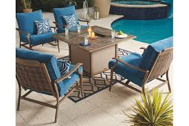 Outdoor Furniture With Fire Pit Table by Fire Pits U0026 Fire Tables Ashley Furniture Homestore