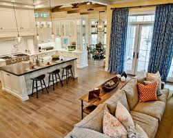 small open floor plans open floor plan kitchen dining living room pleasant 16 google