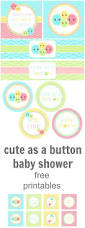 29 best cute as a button baby shower images on pinterest shower