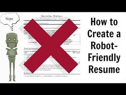 how an applicant tracking system ats reviews your resume youtube
