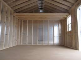 shed interior wood vs vinyl sheds a comparison of shed sidings byler barns