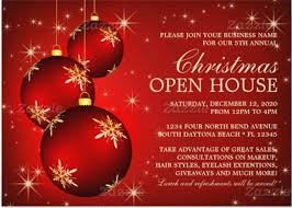 christmas invitation card template free download template business