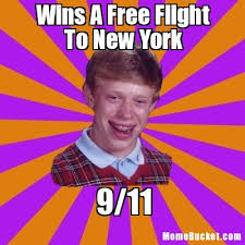 Make Your Own Meme Free - wins a free flight to new york create your own meme