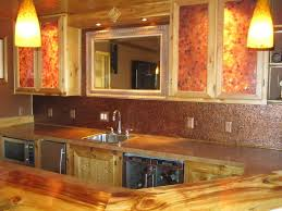 backsplash ideas astounding copper backsplash sheet hammered