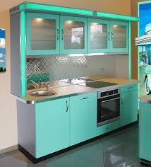 küche türkis amerikanische küchen retro küche nostalgie küchenmöbel