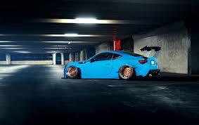 stanced subaru wallpaper wallpapers subaru brz stance light blue cars