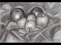 Drapery Art Fruit On Drapery Still Life Sketch Timelapse By Antonieta Lairet