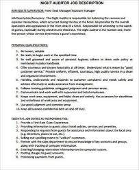 Front Desk Hotel Responsibilities Night Auditor Duties Hotel Night Auditor And Bookkeeping Clerk