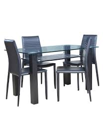 Discounted Dining Room Sets Dining Table 4 Seater Online India Brighton Square Capra 4 Seater