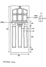 Standard Door Width Exterior Standard Door Sizes Exterior Handballtunisie Org