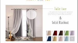 Best Home Fashion Curtains Best Home Fashion Mix And Match Curtains Tulle Lace U0026 Solid