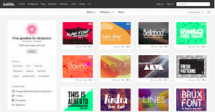 creative font design online 15 free design resources for commercial and personal use