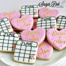 wedding custom sugar cookies frederick md maryland favors beach