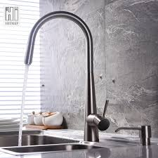 Stainless Steel Kitchen Faucets Pull Out Hideep 304 Stainless Steel Kitchen Faucet Pull Out Spray Cold