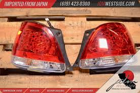 jdm lexus gs400 1998 2005 lexus gs300 gs400 gs430 red clear rear led tail lights