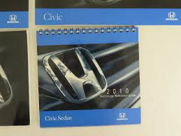 2010 honda civic sedan owners manual guide book bashful yak