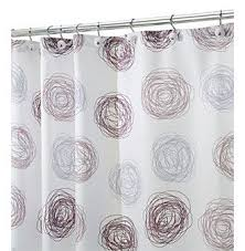 Gray And Brown Shower Curtain - 28 best shower curtains images on pinterest walmart bathroom
