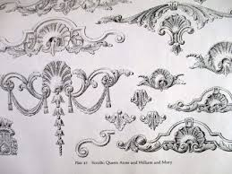 ornamental borders scrolls cartouches unearthedpalette