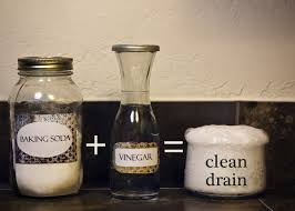 how to unclog a drain with baking soda and vinegar crunchy betty
